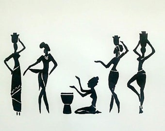Indian Traditional Silhouette