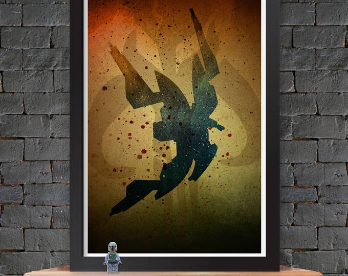 Starviper - Star Wars X-Wing Poster Lustre Print