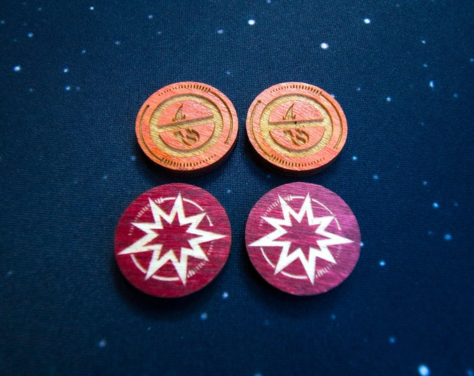 Critical & Disarm Double-sided Tokens – X-Wing 2.0