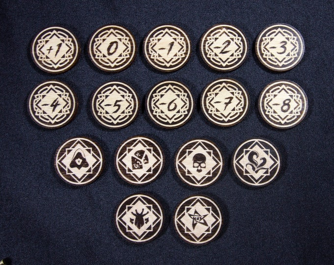 Featured listing image: Arkham Horror LCG Chaos Tokens