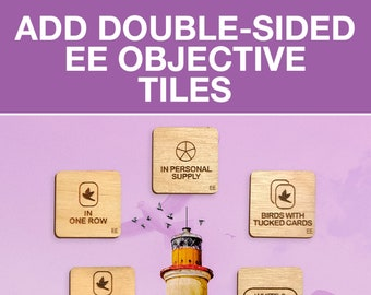 Wingspan Double-Sided European Expansion Objective Tiles