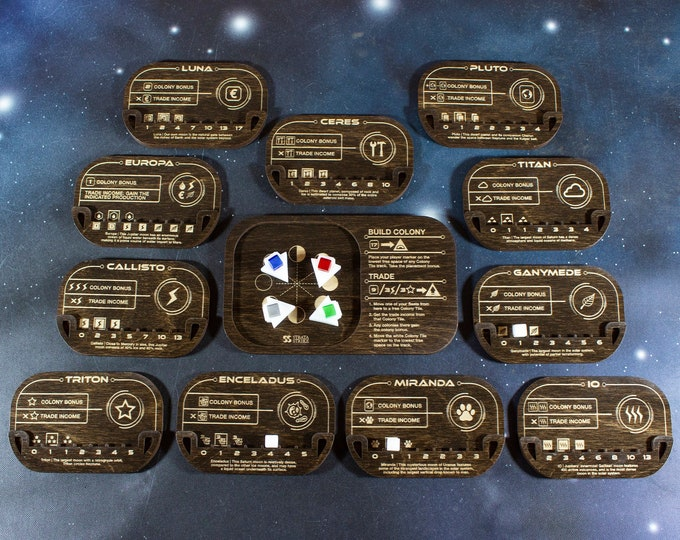 Featured listing image: Terraforming Mars Colony Expansion Set - Kona Color