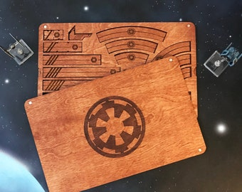 X-Wing Miniatures Template Tray 2.0 - Imperial Edition