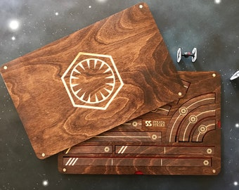 X-Wing Miniatures Template Tray 2.0 - First Order