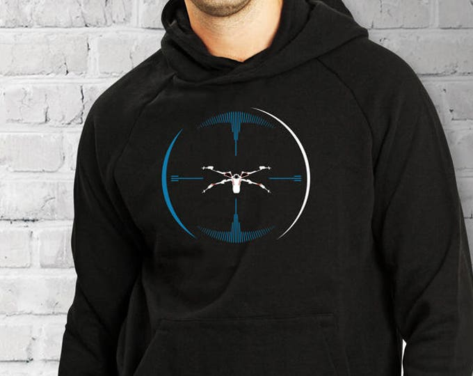 Star Wars X-Wing inspired Target Lock Hoodie