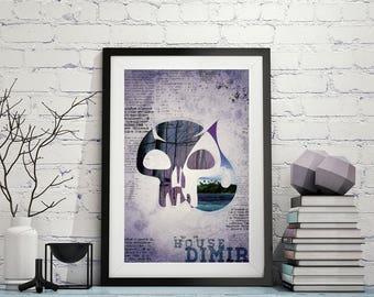 House Dimir – Magic The Gathering Poster 11x17 Lustre Print