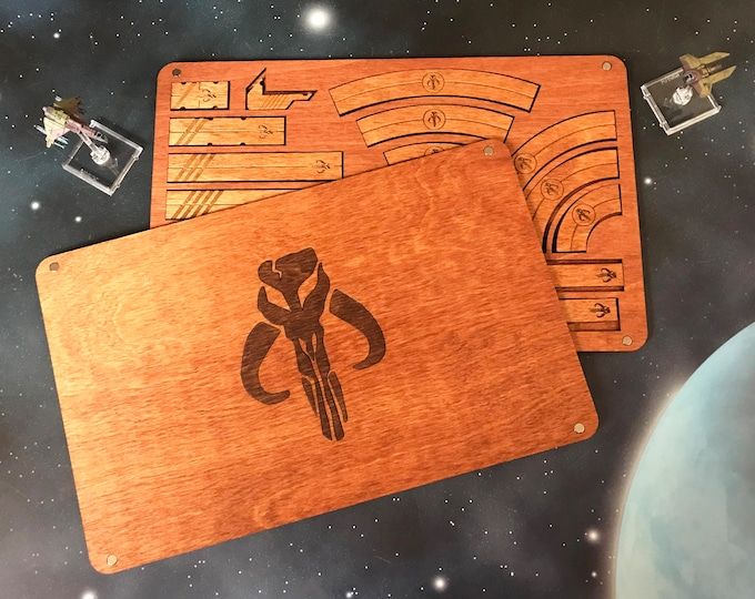 X-Wing Miniatures Template Tray 2.0 - Scum And Villainy Edition