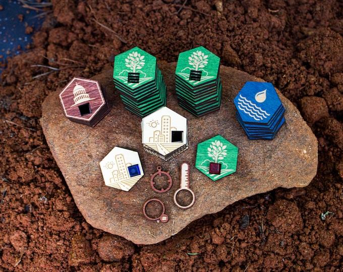 Terraforming Mars - Full Set of Tiles