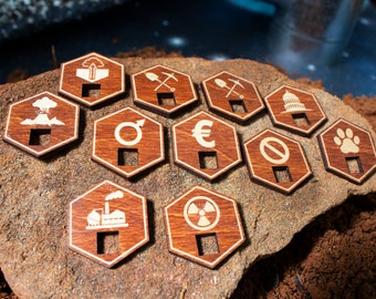 Terraforming Mars – Specialty Tiles and Capital