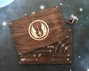 X-Wing Miniatures Template Tray 2.0 - Jedi Order