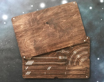 X-Wing Miniatures Template Tray 2.0 - Kona Color