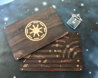 X-Wing Miniatures Template Tray 2.0 - Galactic Republic
