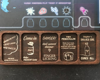 Pandemic Disease Cube Tray and Holder