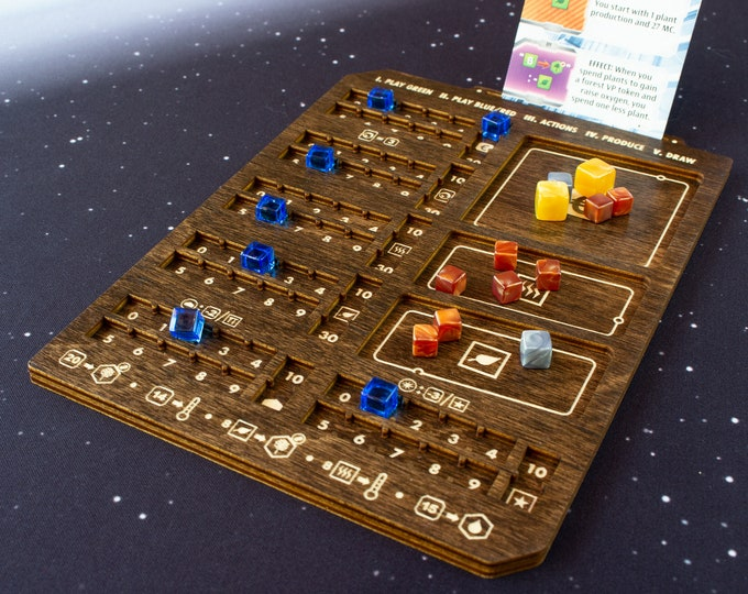 Featured listing image: Terraforming Mars - Ares Expedition - Player Board - Kona