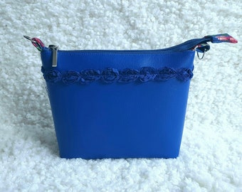Eco leather cosmetic bag, cosmetic bag Maxime