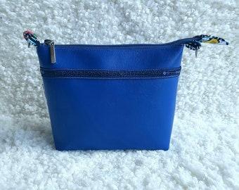 Eco leather cosmetic bag, cosmetic bag Maud