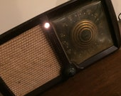 Vintage AM Radio, Antique Tube Radio, Old Tabletop Radio, Zenith Consoltone, Model 5D011, Chassis 5C01, Bakelite Case, Made in USA, 1946