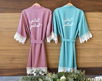 Flower girl robes  7b8c54c1c