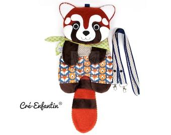 Patron de couture PDF - Sac multi-usages Bambou, le panda roux
