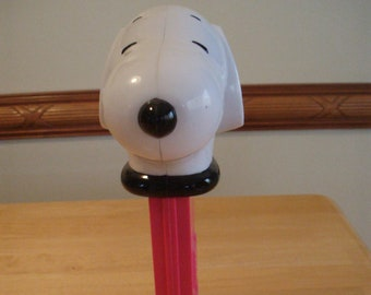 """Giant Snoopy Musical Pez! - approx. 12"""" tall - Peanuts - Charlie Brown's Snoopy"""