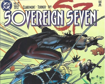 Sovereign Seven #7 (Jan 1996) - writer and artist: Claremont & Turner - DC Comics