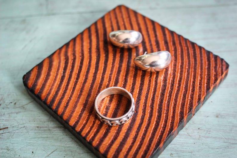 Ring Silver Earrings
