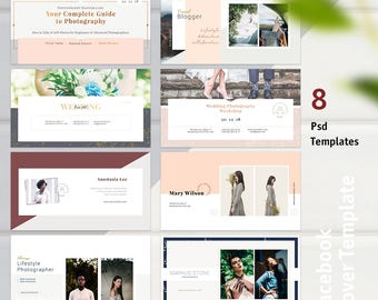 facebook cover template etsy