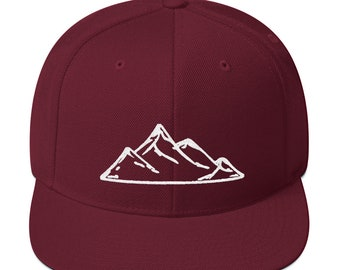 4f768c741ef Mountain Snapback Hat