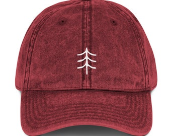 ae0e83ee2a7c0 Minimalist Tree - Vintage Cotton Twill Cap