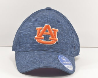 7859a639a7f Auburn Tigers Football top of the world one fit flex hat College Football  Team Hat - Blue