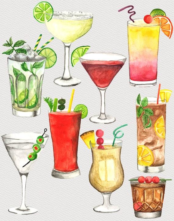Watercolour Splash Lime /& Beer Bottle Print A4 A3 A2 Maxi Wall Art Decor 5006