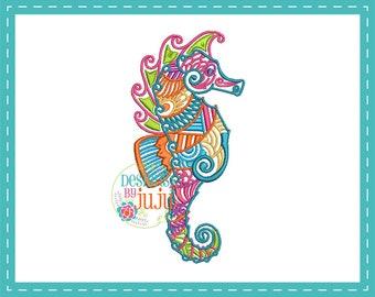 313857e098f6 Colorful seahorse | Etsy