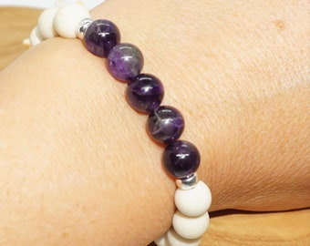 Loyalty | Amethyst, Riverstone, 925 Sterling Silver