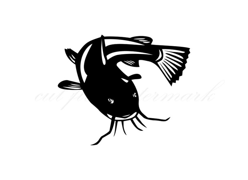 Download Cat Fish Cut Files Svg Studio 3 File For Silhouette Brother Cricut Cutouts Decals Designs Svgs Cutout Stencil Stencils Fishing Catfish Materials Craft Supplies Tools Vadel Com