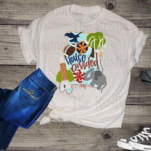 c6f3a46a8 House divided alabama auburn adult graphic tee - crimson tide shirt - unisex  shirt - war eagle - auburn tigers - alabama