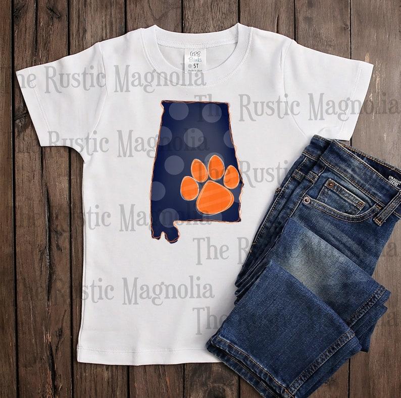 Youth auburn tigers graphic tee sublimation shirt unisex shirt war eagle alabama