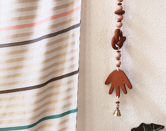 Featured listing image: Pre-Sale- Earth + Sky Tibetan Bells (terra cotta + blush)