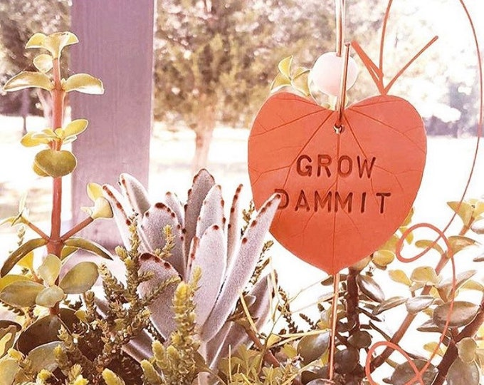 Featured listing image: GROW DAMMIT