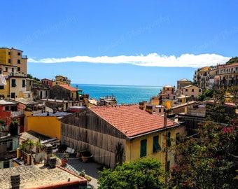 Photograph, Home Decor, Riomaggiore, Cinque Terre, Italy