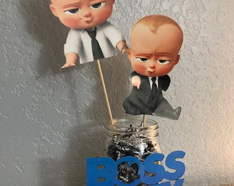 Boss Baby Cakepop Cupcake Toppers Etsy