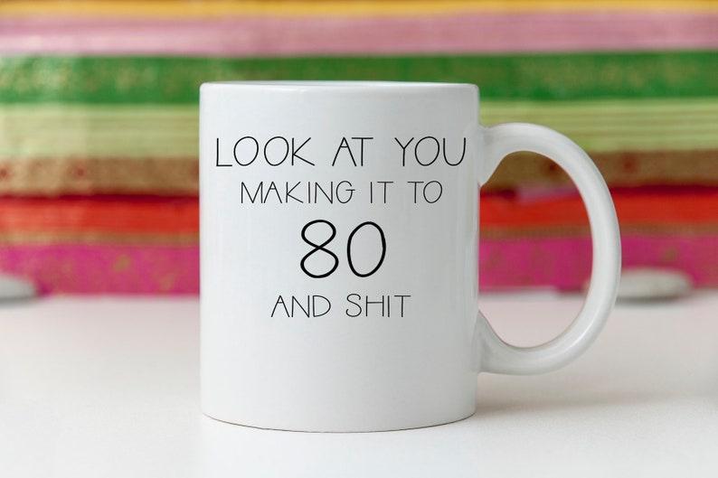 80th Birthday Gift Turning 80 Eightieth