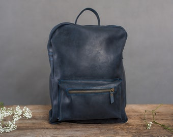26ef8e1f8f SALE - Leather backpack