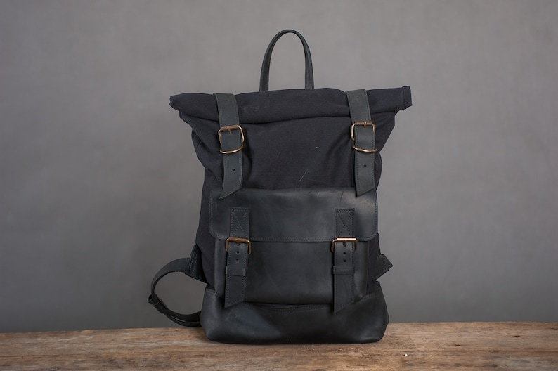 0e7ebea18a Leather backpack womenBackpack canvasLeather Travel