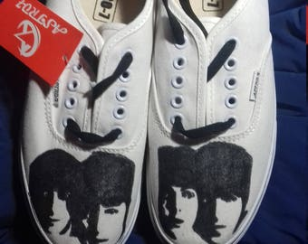 981fb84a806055 Painted shoes the beatles