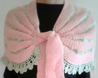 Wrap. Wool cape. Shawl.