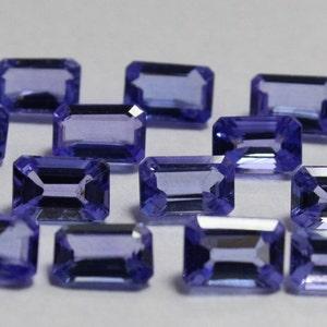 Semi precious stone Kyanite 24.40 Carat 32 Pieces Lot 4*6 MM Octagon  Kyanite Good Quality Loose Gemstone