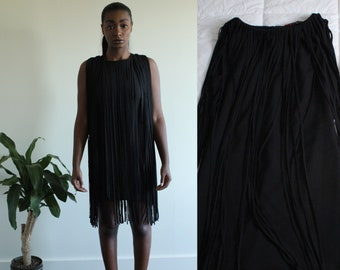 Retro Kate Moss Fringe Dress