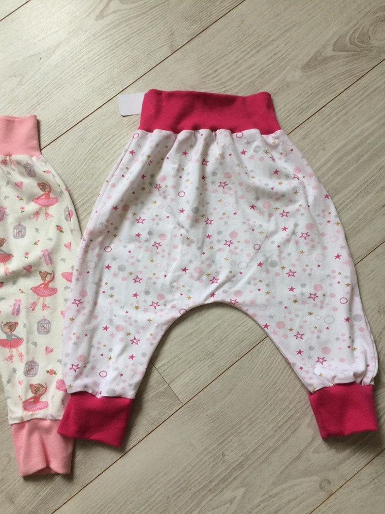 sarouels baby in light jersey 18 months dancers or stars