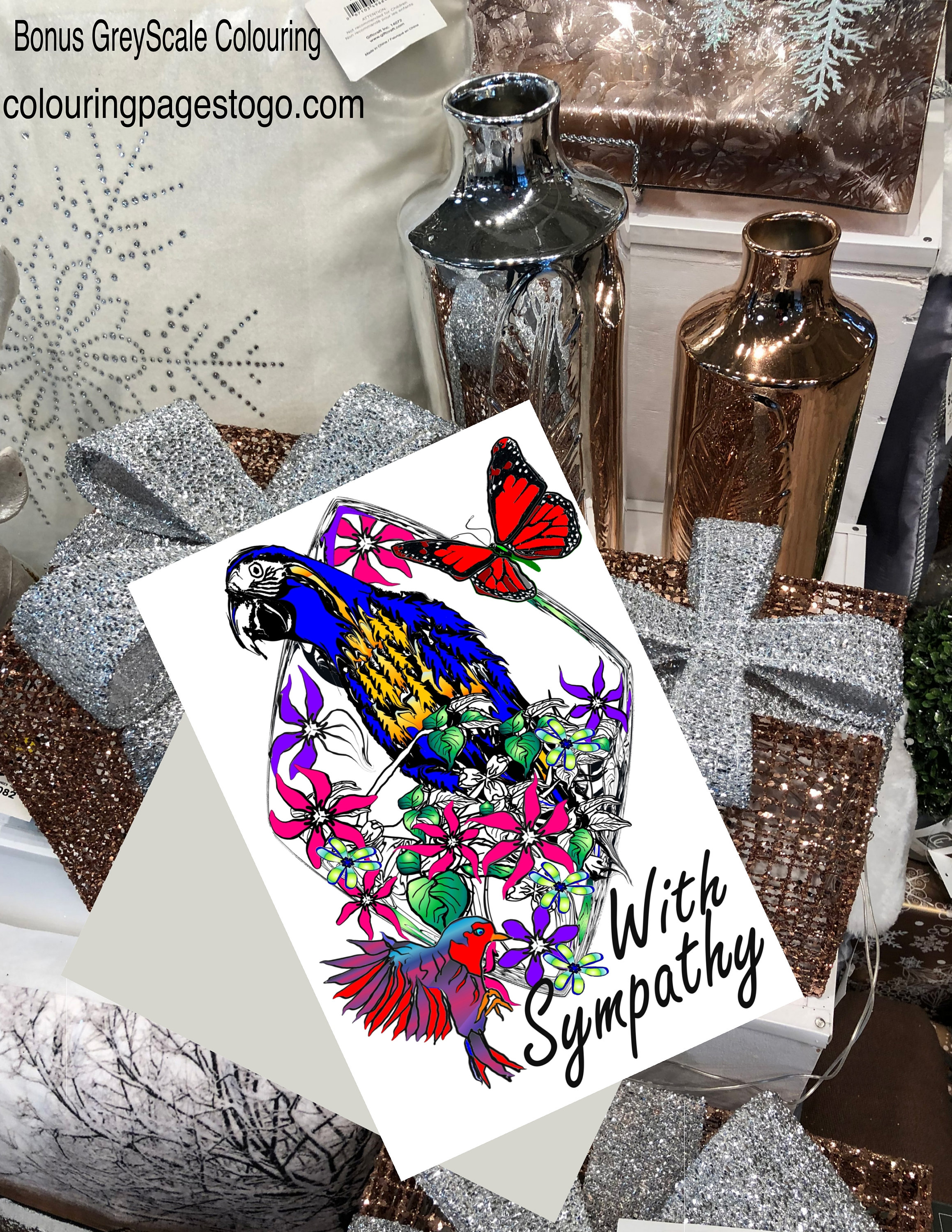 It's just an image of Sympathy Card Printable pertaining to bird