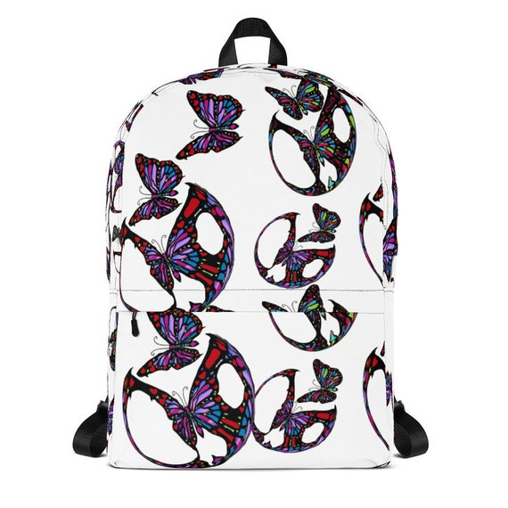 21a93bc74db Butterfly Monarch Backpack Butterfly Bag for teen
